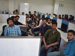 Students at Impinge Solution Ltd. Mohali
