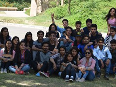Students at Virast-E-Khalsa